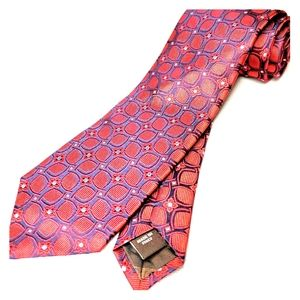 Robert Talbot Best Of Class Mens Neck Tie Red